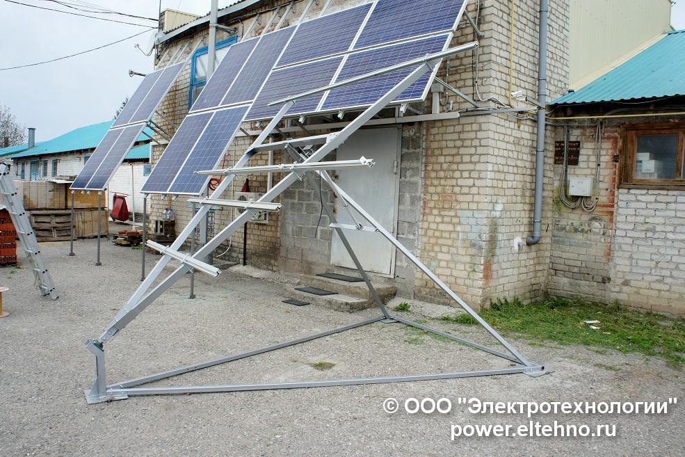 Солнечный трекер ООО Электротехнологии