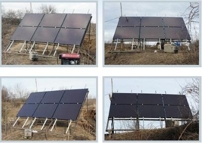 Солнечная станция недалеко от г. Баксана