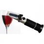 Рефрактометр-виномер (0-25% спирт, 0-40% сахар)