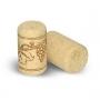 Пробка корковая (10 шт) для винных бутылок