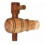 Дубовый кран для деревянной бочки