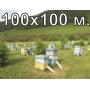 Электропастух для ПАСЕКИ 100х100 м. (полный комплект) СТАТИК