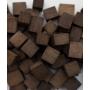 Дубовая кубическая щепа среднего обжига