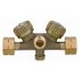 Двойной запорный блок GOK с регулировочными вентилями (тип 02252)