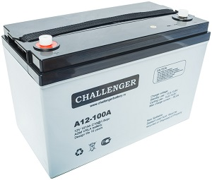 A12-100A АКБ Challenger
