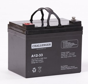 A12-33 АКБ Challenger