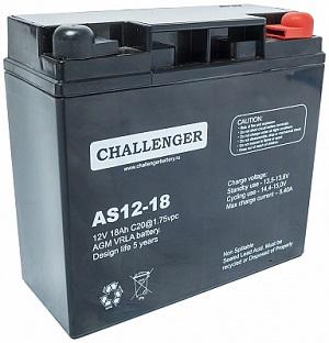 AS12-18 АКБ Challenger