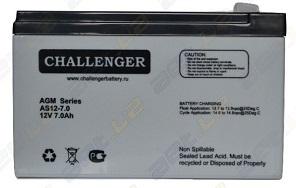 AS12-7,0 АКБ Challenger