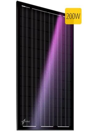 Au-FSM-200M монокристаллическая солнечная батарея, солнечный модуль aurinko®