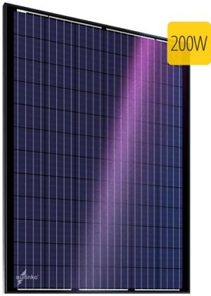 Au-FSM-200P поликристаллическая солнечная батарея, солнечный модуль aurinko®