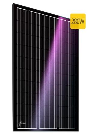 Au-FSM-280M монокристаллическая солнечная батарея, солнечный модуль aurinko®