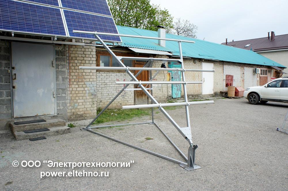 Солнечный трекер производства ООО Электротехнологии