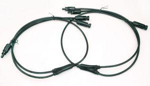 MC4 Y-коннектор 500 мм для кабеля 6 мм² для солнечной батареи Exmork