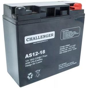 AS12-18E1 АКБ Challenger