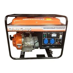 БГ6500E бензиновый генератор MAGNUS