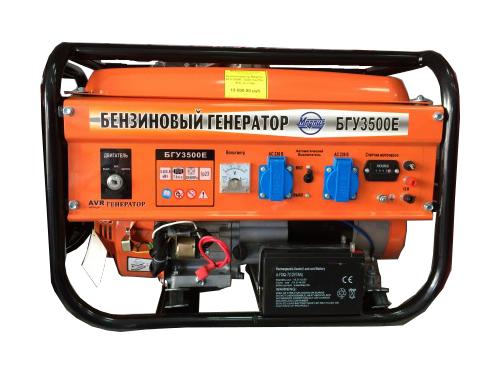 БГУ 3500Е бензиновая электростанция MAGNUS