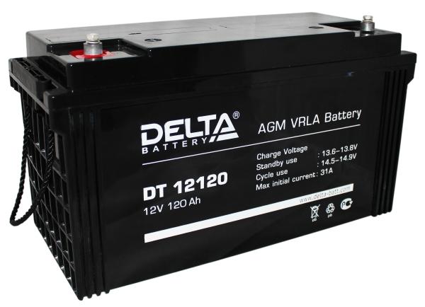 Delta DT 12120 свинцово-кислотная АКБ