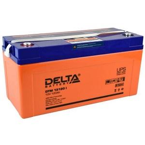 Аккумулятор Delta DTM 12120 I свинцово-кислотный