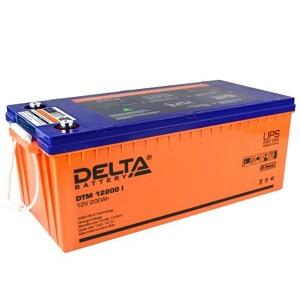Аккумулятор Delta DTM 12200 I свинцово-кислотный