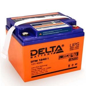 Аккумулятор Delta DTM 1240 I  свинцово-кислотный