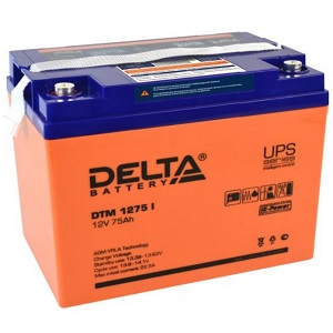 Аккумулятор Delta DTM 1275 I свинцово-кислотный