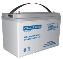 G12-65H гибридная АКБ Challenger