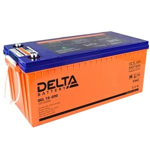 Delta GEL 12-200 свинцово-кислотный аккумулятор