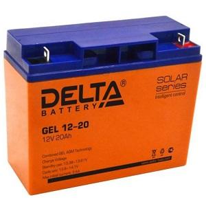 Delta GEL 12-20 свинцово-кислотный аккумулятор