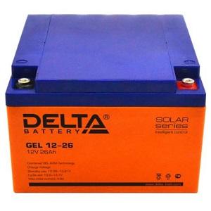 Delta GEL 12-26 свинцово-кислотный аккумулятор