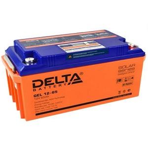 Delta GEL 12-65 свинцово-кислотный аккумулятор