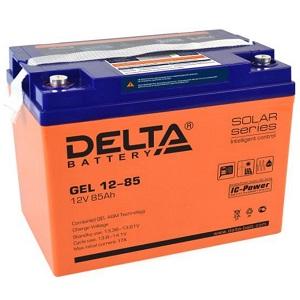 Delta GEL 12-85 свинцово-кислотный аккумулятор