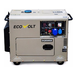 HOME (4.5-6.9кВА) DG6000SE-3 дизильная электростанция Ecovolt
