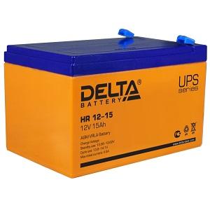 Delta HR 12-15 аккумулятор