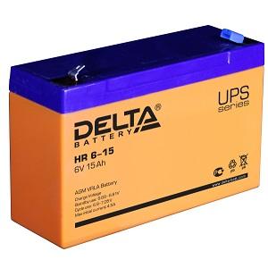 Delta HR 6-15 аккумулятор