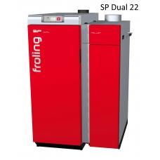 Комбинированный котел Froling SP Dual 22 кВт дрова пеллеты автоматический (Австрия)