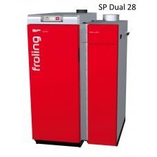 Комбинированный котел Froling SP Dual 28 кВт дрова пеллеты автоматический (Австрия)