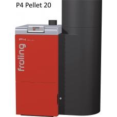Котел на пеллетах Froling P4 20 кВт автоматический