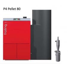 Котел на пеллетах Froling P4 80 кВт автоматический (вкл. обеспыливатель PST)