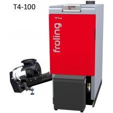 Котёл на щепе и пеллетах Froling T4 110 кВт автоматический (стокер слева)
