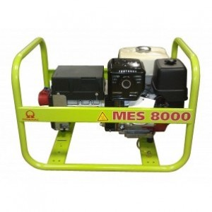 MES8000 1 фаза бензиновый генератор Pramac