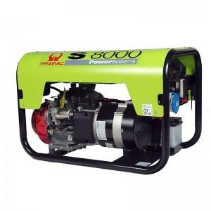 S8000 1 фаза бензиновый генератор Pramac
