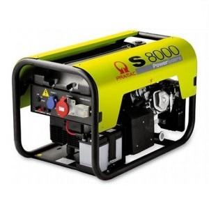 S8000 3 фазы бензиновый генератор Pramac