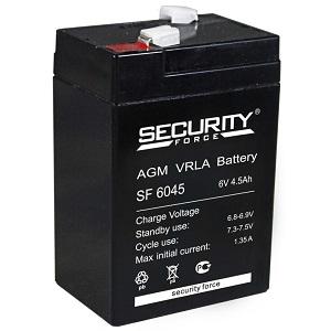 Аккумулятор SF 6045 Security Force